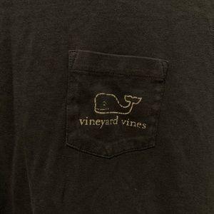 Vineyard Vines Tops - blue vineyard vines long sleeve with pocket